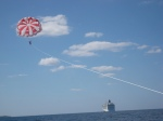 Parasailing, Great Stirrup Cay